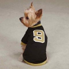 Drew Brees #9 New Orleans Saints NFL Game Day Casual Canine Do...