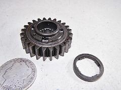 82 HONDA CB750SC CB750 PRIMARY DRIVE GEAR 24T & SPACER THRUST ...