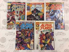 Alpha Flight #1-5 Comic Book Set Marvel 1997