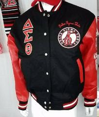 Delta Diva Sorority Jacket Wool DST Jacket 1913 Fortitude Woo...