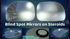 Utopicar Blind Spot Mirrors, Blind Side Car Mirror/Door Mirror...