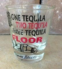 Cayman Islands One Tequila Two Tequila Three Tequila Floor Sho...
