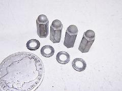 1974 YAMAHA RD60 CYLINDER HEAD MOUNTING NUTS