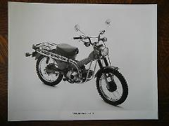 80 HONDA CT110 TRAIL 110 NOS OEM DEALER'S SALES SHEET BROCHURE
