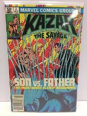 Ka-Zar the Savage #7 Comic Book Marvel 1981