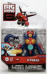 Big Hero 6 Action Figure - Fred Action Figure - Disney - Band Dai