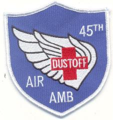US Army 45TH DUST OFF Medical Company Air Ambulance PATCH NEW!!!