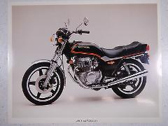 80 HONDA CB400T HAWK NOS OEM DEALER'S SALES SHEET LITERATURE B...