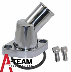 A-Team Performance 45� SWIVEL POLISHED WATER NECK THERMOSTAT H...