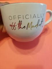'Officially Off The Market Engagement Bridal Shower Coffee Sou...