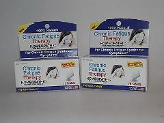 2 Boxes Chronic Fatigue Therapy Homeopathic 140 Total Tablets (Q)
