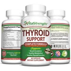 Thyroid Support - Complete Formula to Help Weight Loss & Impro...