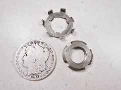 64-66 HONDA CT200 #1 CLUTCH MOUNTING NUT & LOCK WASHER