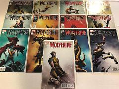 Wolverine #1 2 and 4 5 6 7 8 9 10 11 12 13 14 Comic Book Set M...