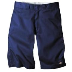 Dickies Men's 13 Relaxed Fit Multi-Pocket Work Short, Blue, W42