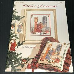 Father Christmas Victorian and Country Cross Stitch Pattern, K...