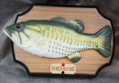 Big Mouth Billy Bass Singing Wall Plaque Fish