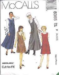 8365 Vintage McCalls SEWING Pattern Misses SemiFitted Jumper H...