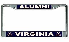 University of Virginia Alumni License Plate Frame