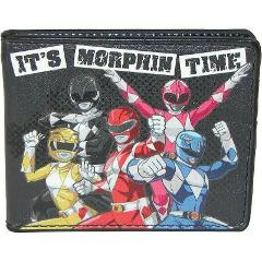 Buckle Down Kid's Power Rangers Bifold Wallet - Black One Size