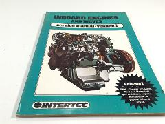 Inboard Engines And Drives Service Manual Volume 1 Intertec 1984
