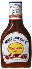 Sweet Baby Ray's Sweet Chili Wing Sauce Glaze, 16 Fluid Ounces