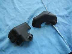 STEERING STABILIZER MOUNT COVERS 2004 HONDA CBR1000RR CBR1000