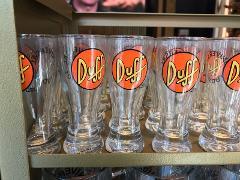 Universal Studios Exclusive The Simpsons Duff Beer Shot Glass ...