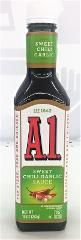 A1 Steak Sauce Sweet Chili Garlic Flavor 10 oz