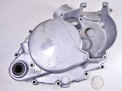 75 SUZUKI TS100 TS100M HONCHO RIGHT SIDE CLUTCH COVER & CARBUR...