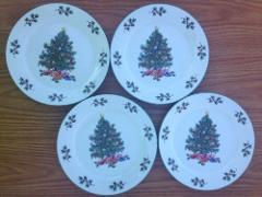4 Gibson China Christmas Tree 7