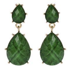 Amrita Singh Real Housewives Hampton Evergreen Resin Earrings ...