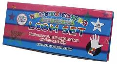 Loom Kit Deluxe Combo 50 S Clips & 1200 Colored Bands Rainbow ...