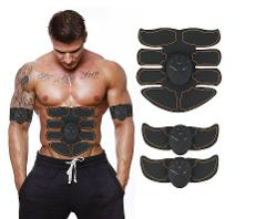 Abs Stimulator Muscle Toner Trainer Set Ultimate Abdominal Ton...