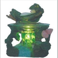 Frog Fragrance Lamp Oil Wax Warmer Burner Electric Polyresin N...