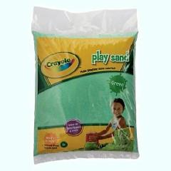 Crayola Green Play Sand 20 Pound Bag Aquarium Safe High Qualit...