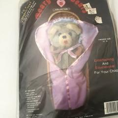 Vintage Beary Hill Bear Snuggle Beary Craft Kit New in package...