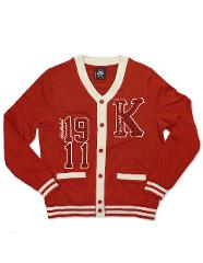 KAPPA ALPHA PSI FRATERNITY CARDIGAN SWEATER MEN'S CARDIGAN SWE...