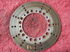 Front left hand brake disc rotor 1981 Kawasaki KZ750 KZ 750 H LTD