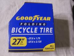 Goodyear Folding All Terrain Bike Tire, 27.5