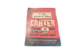 Vintage Carter Carburetor Gasket Assortment 265 Chrysler 18264...