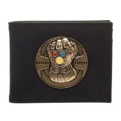 Infinity Gauntlet Bi-Fold Wallet, PU Leather Money ID Cards, A...