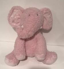 Hallmark Pink Elephant Rosebud Plush Stuffed Animal Baby Girl ...