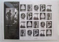 ISAMU NOGUCHI Artist Sculptor Full Pane Sheet of 20 Postage St...