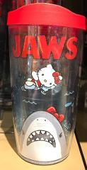 Universal Studios Jaws / Hello Kitty 16oz. Tervis Tumbler Trav...