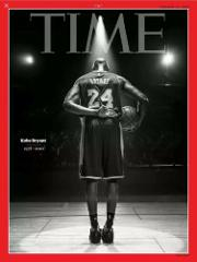 KOBE BRYANT 1978 - 2020 TIME MAGAZINE ON COURT FINAL BOW BLAC...