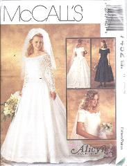 7452 UNCUT McCalls Vintage SEWING Pattern Alicyn Excl. Bridal ...