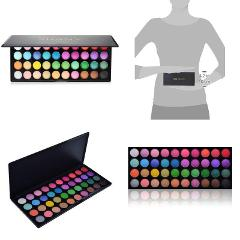 Morphe Pro 35 Color Eyeshadow Makeup Palette GLAM High Pigment...