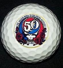 1 Dozen Titleist Pro V1x Golf Balls (Grateful Dead 50th Annive...