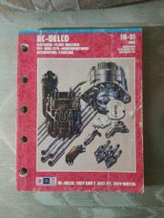 AC Delco 1A-91 1988 Parts Catalog Electrical Plugs Switches PC...